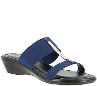 Tuscany by Easy Street Slide Sandals - Adda