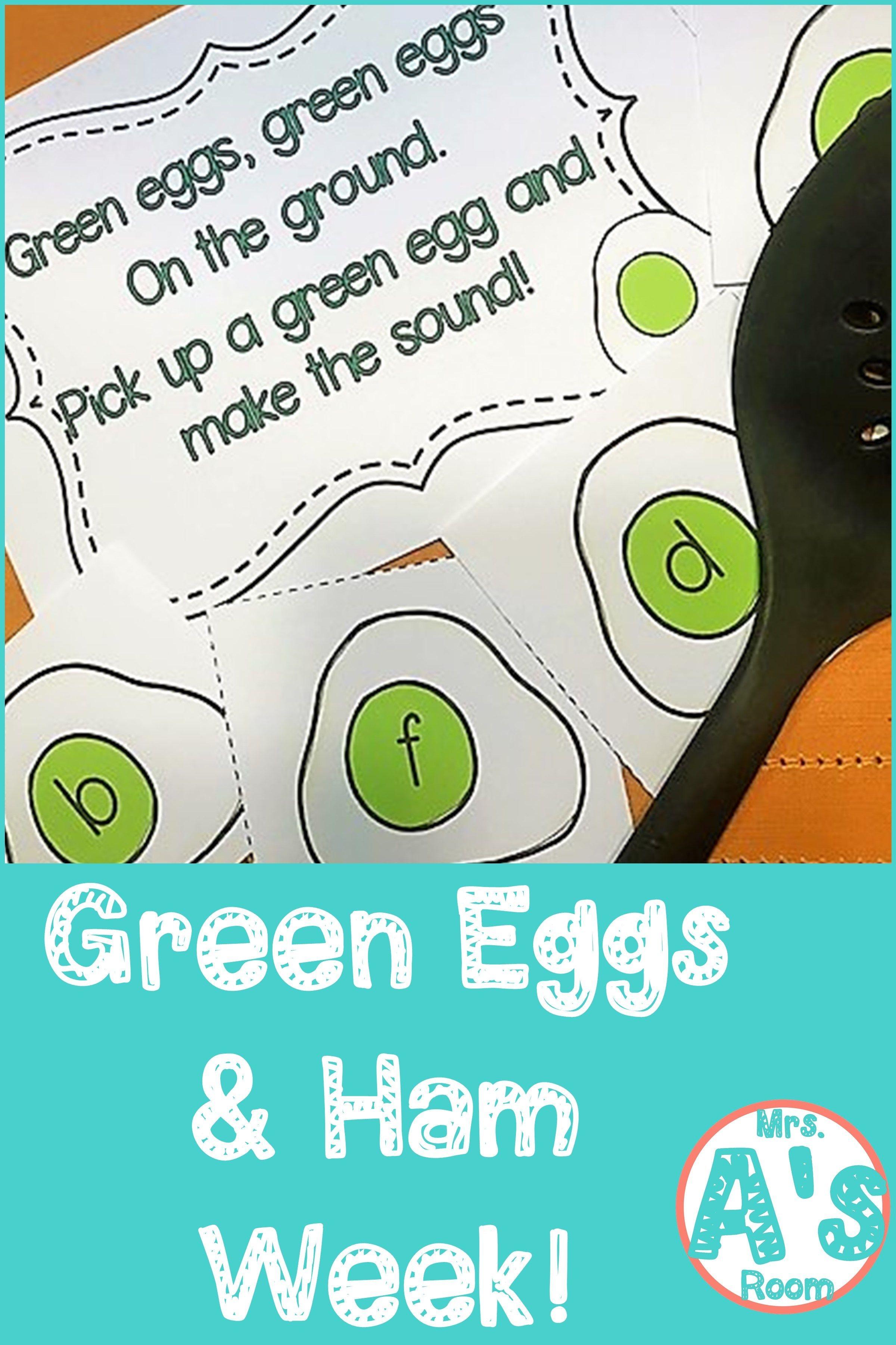 Green Eggs And Ham Week