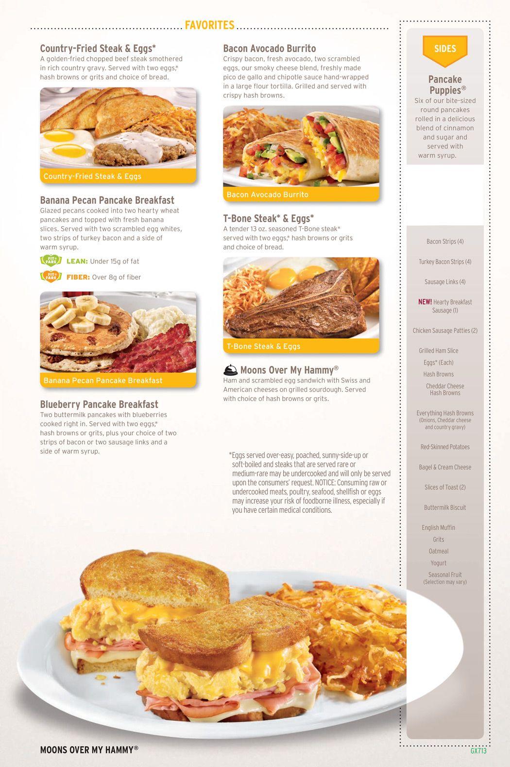 Dennys-menu-5 | Denny\'s | Pinterest | Menu, Beverage and Food