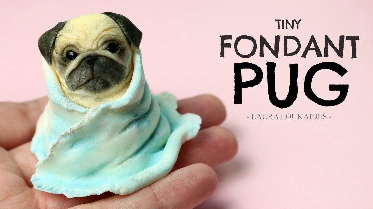 Tiny Fondant Pug Timelapse Laura Loukaides Animal