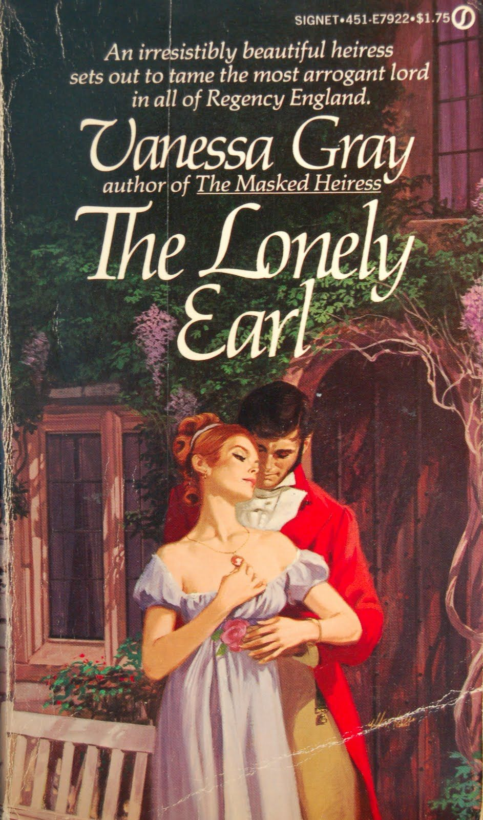 The Lonely Earl Vanessa Gray Historical Romance Book Covers Romance Book Covers Book Cover