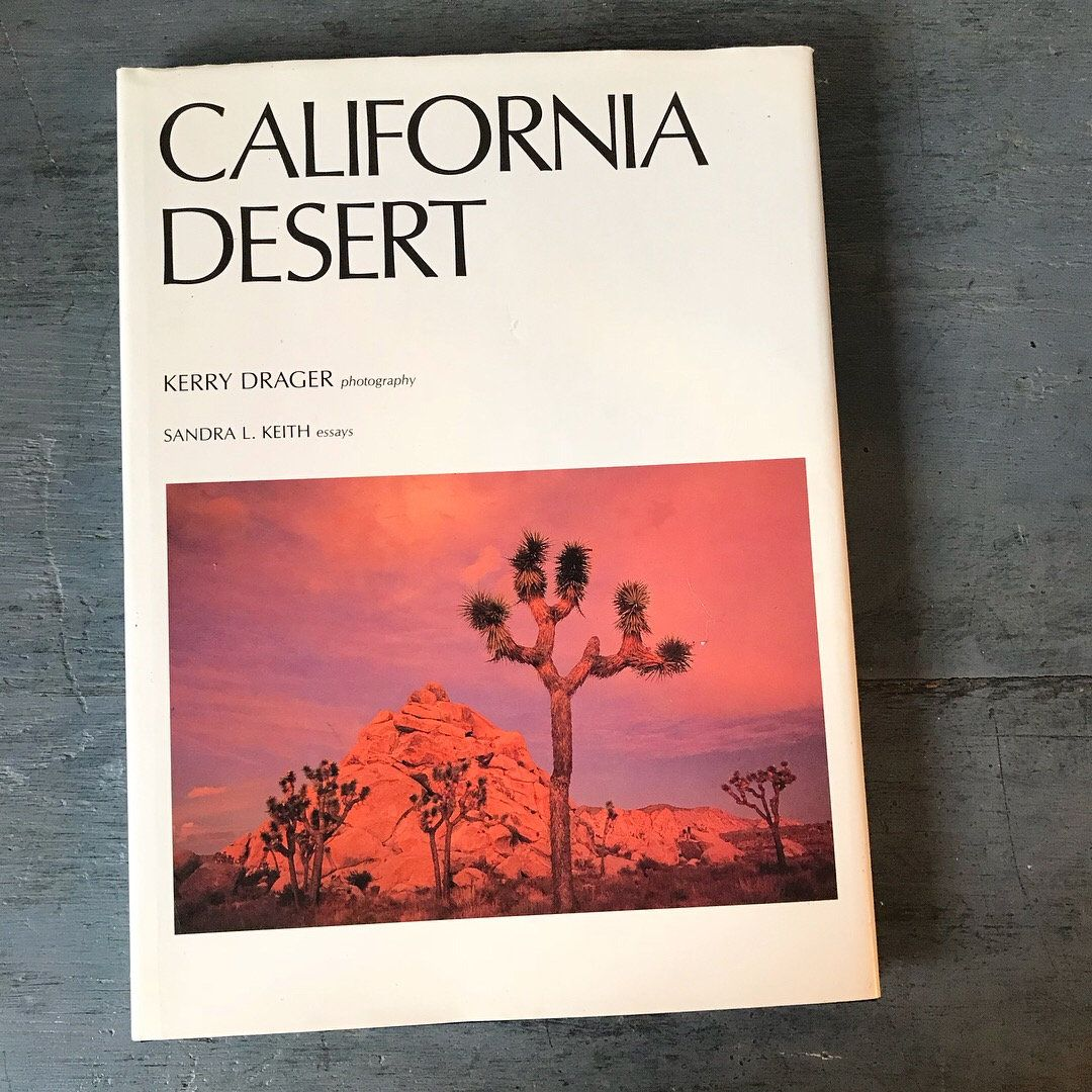 California Desert Coffee Table Book Nature Landscape Photography Joshua Tree Coachella Palm Springs Kerry Drager 1993