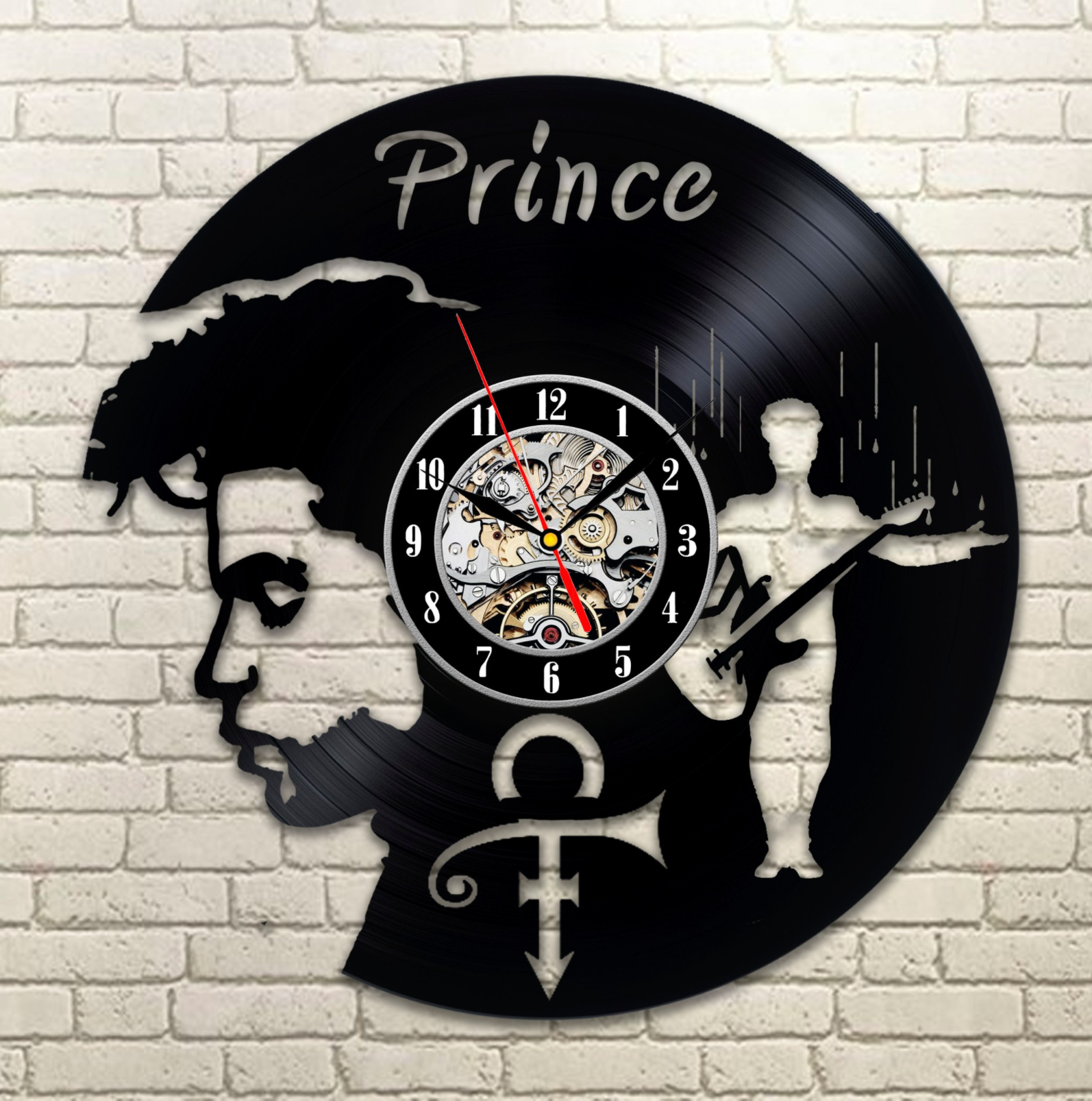 Unique Wall Clocks Cheap Prince Vinyl Record Clock I Want This Soooo Bad For