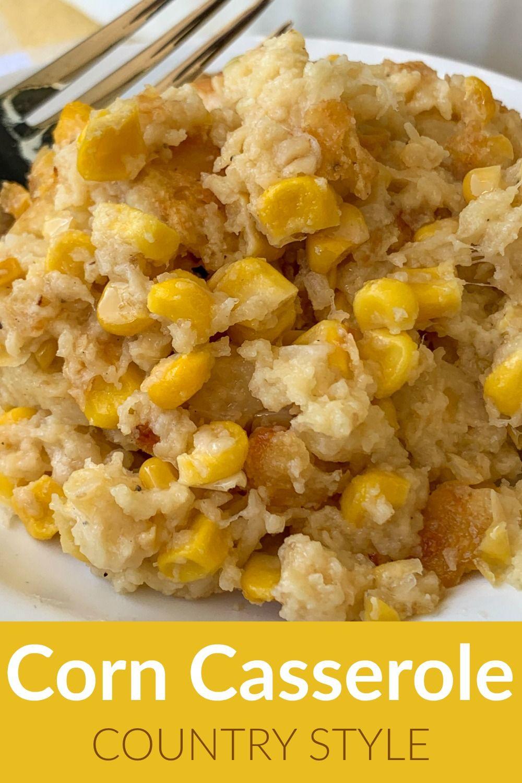 Easy Corn Casserole