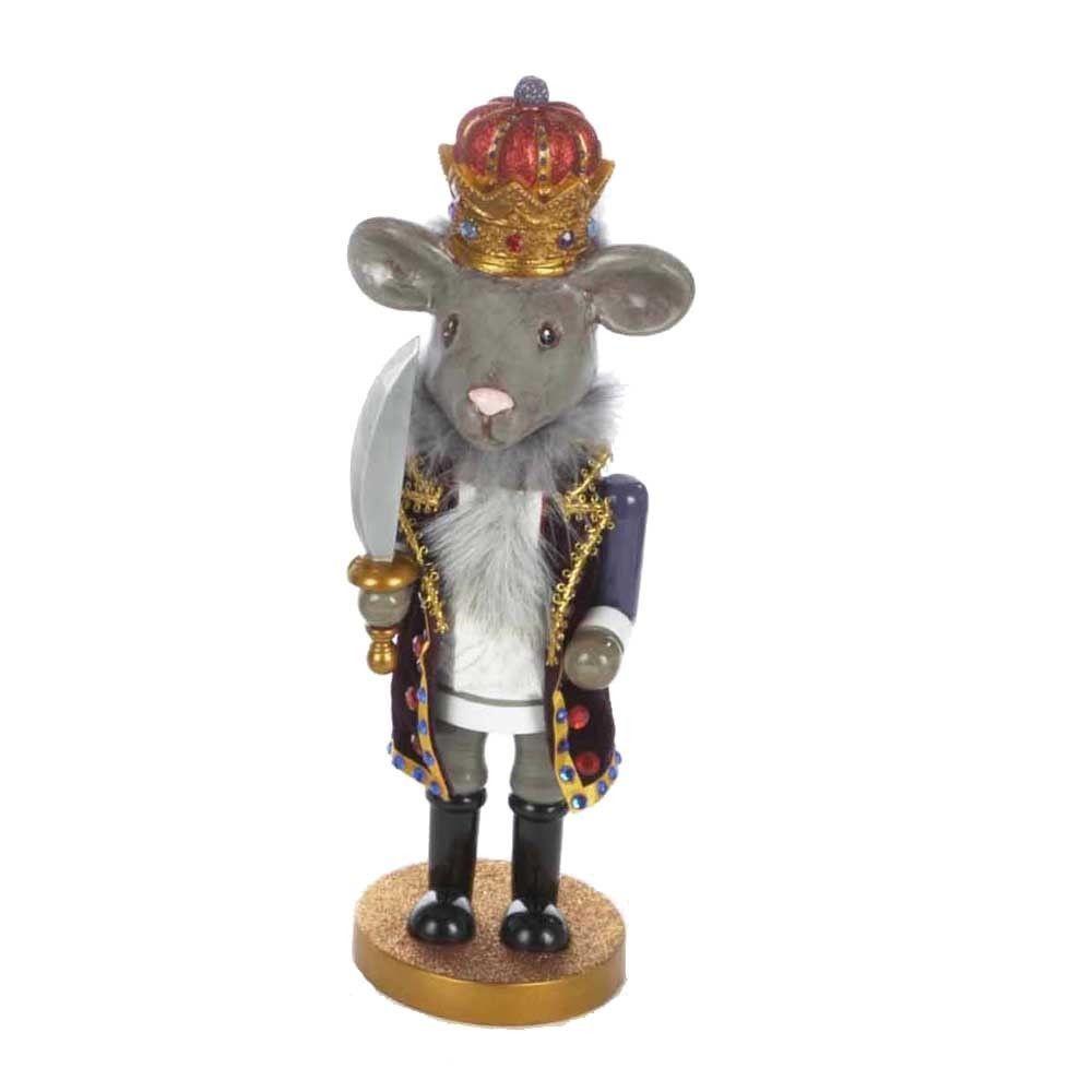 Kurt Adler 12-inch Hollywood Mouse King Nutcracker (12 in. Hollywood ...