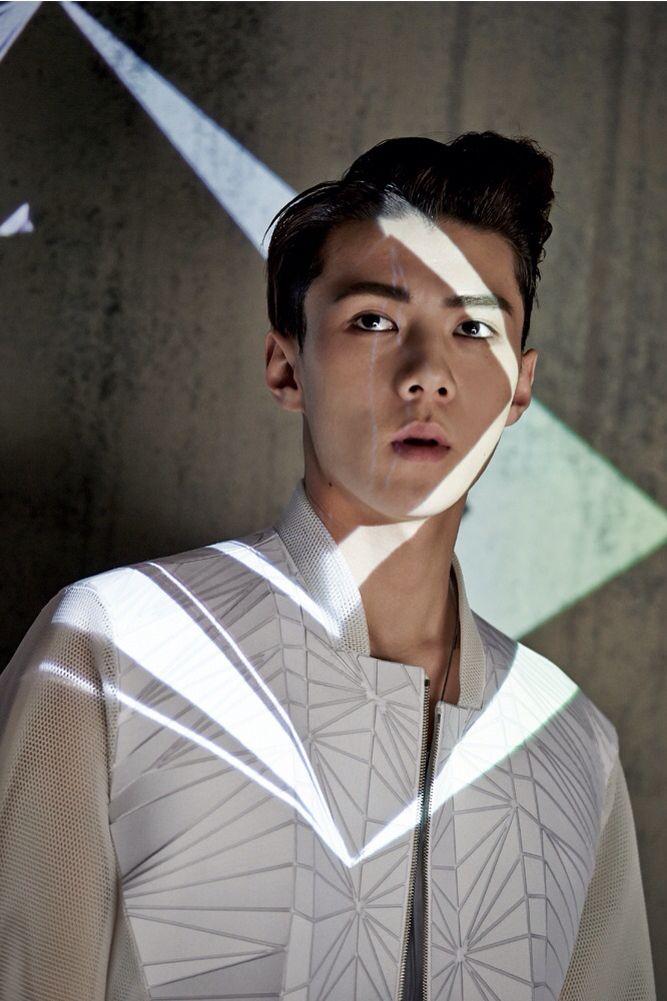 "Exo - Sehun ""He looks like a man <3"" Instagram: adoraklee"