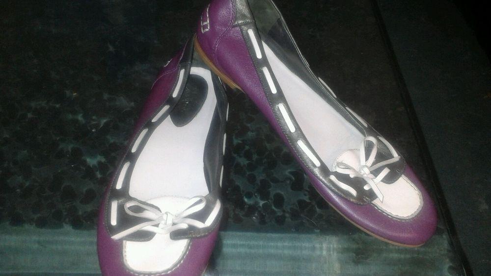Nike Cole Haan Ladies Leather Slip-On Mocassins Weekender Loafers Sz 9 Brown #ColeHaan #LoafersMoccasins #Casual