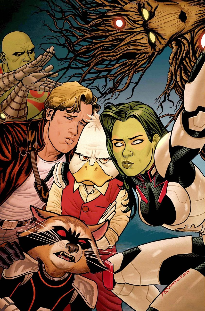 Guardians of the Galaxy and Howard the Duck