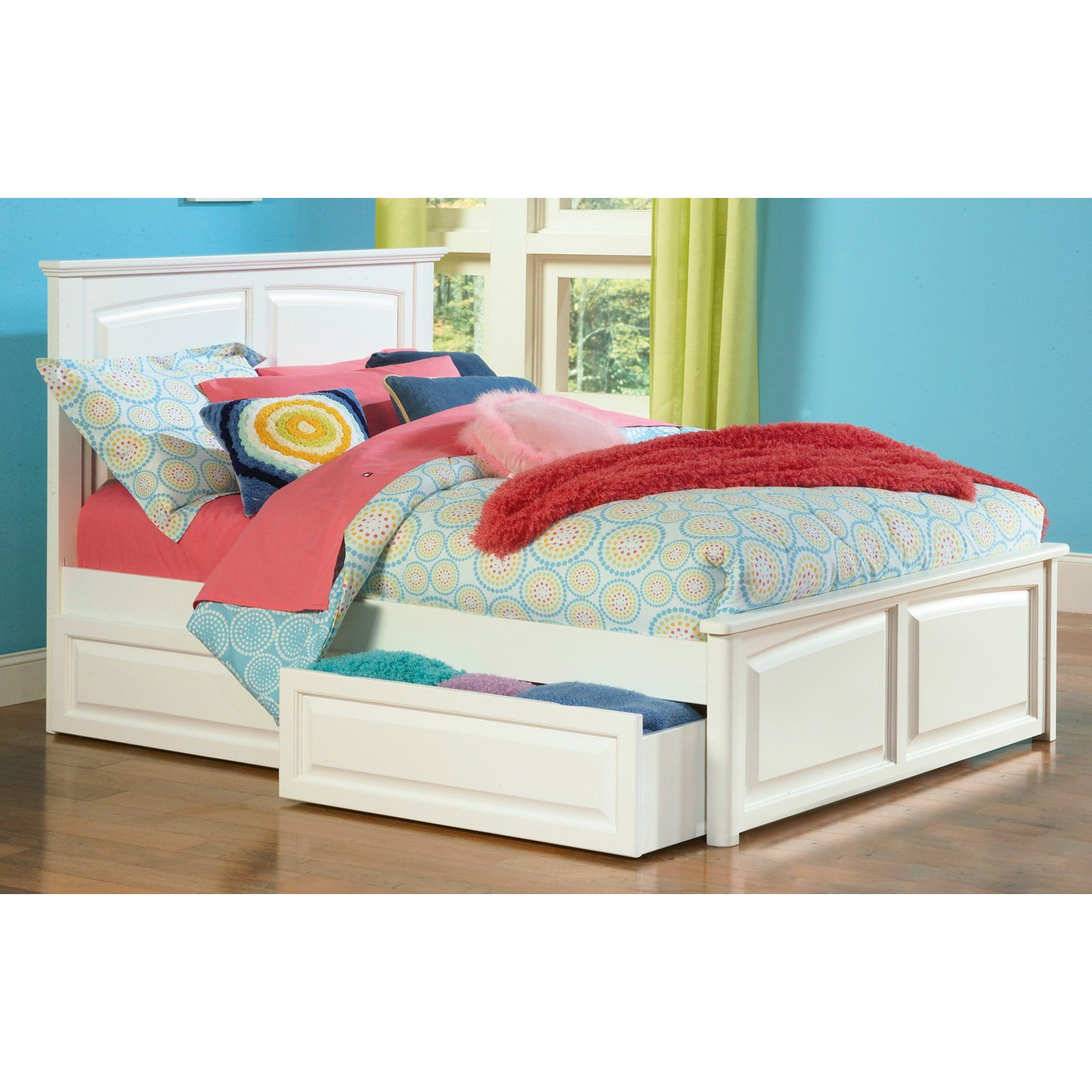 Monterey Platform Bed Www Hayneedle Com Bed Frame With Storage Kids Beds With Storage Bed Storage