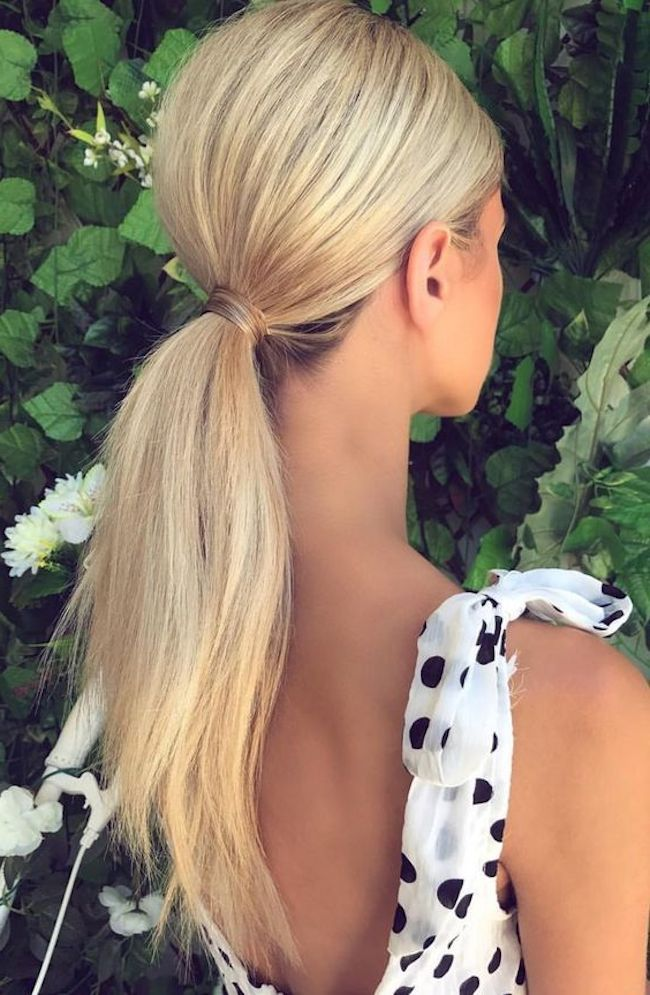 Playful Ponytails | Styling the classic wedding ponytail - TANIA MARAS | bespoke wedding headpieces + wedding veils #ponytailhairstyles