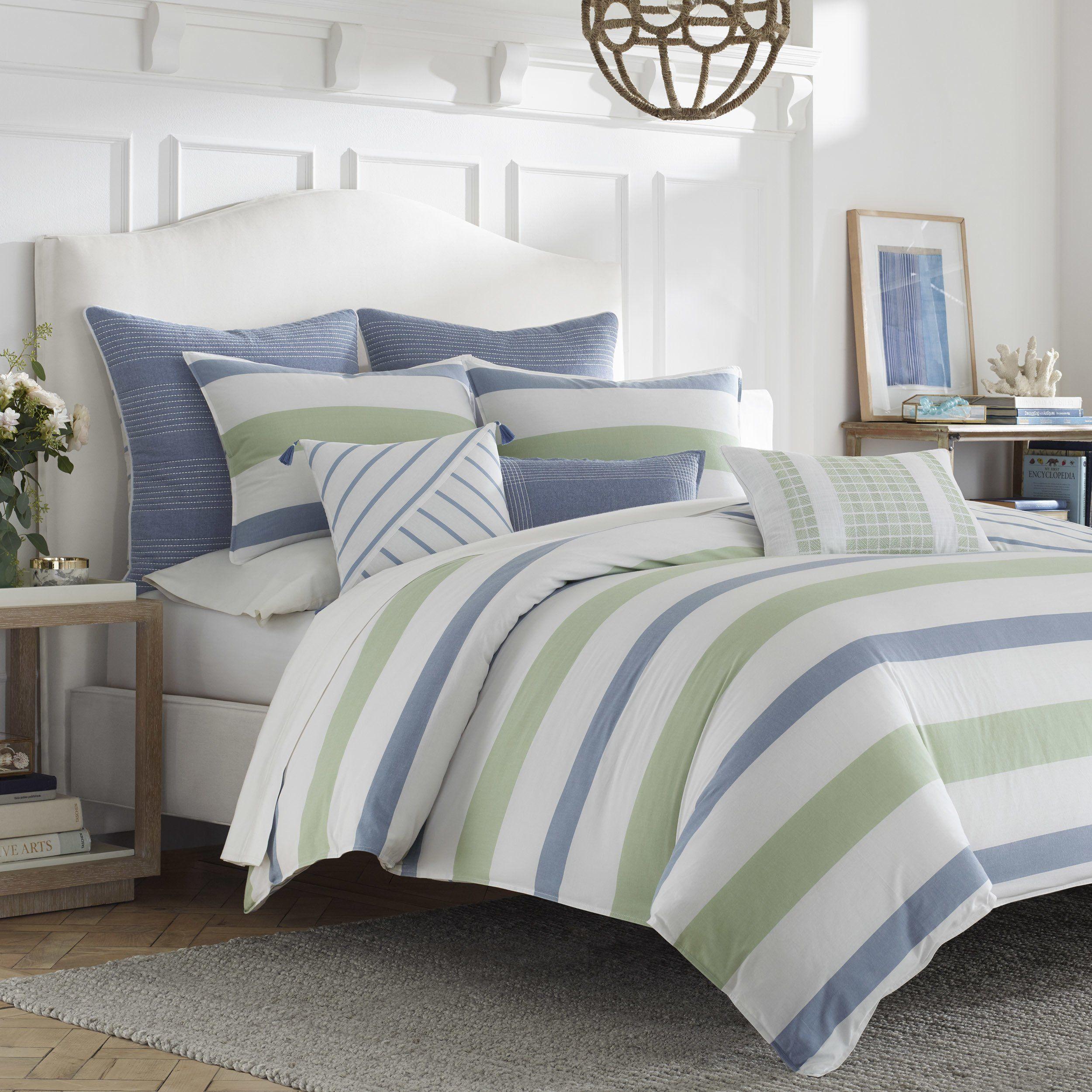 Nautica Norwich Comforter Set King Size Blue 3 Piece As Is Item King Blue 3 Piece Comforter Sets Blue Comforter Blue Comforter Sets
