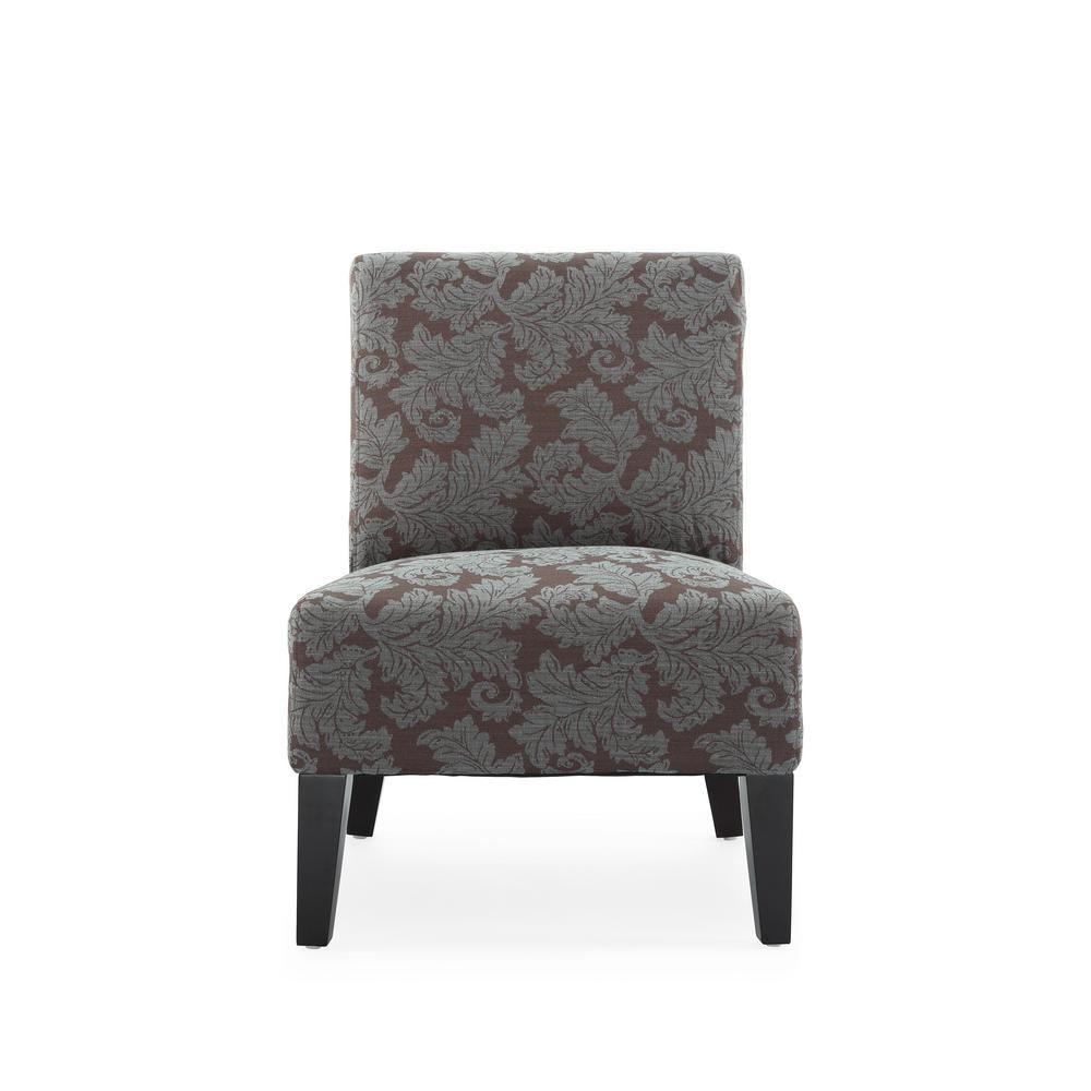 Best Monaco Aqua Fern Accent Chair Ac Mn Sd050 7A Accent 400 x 300