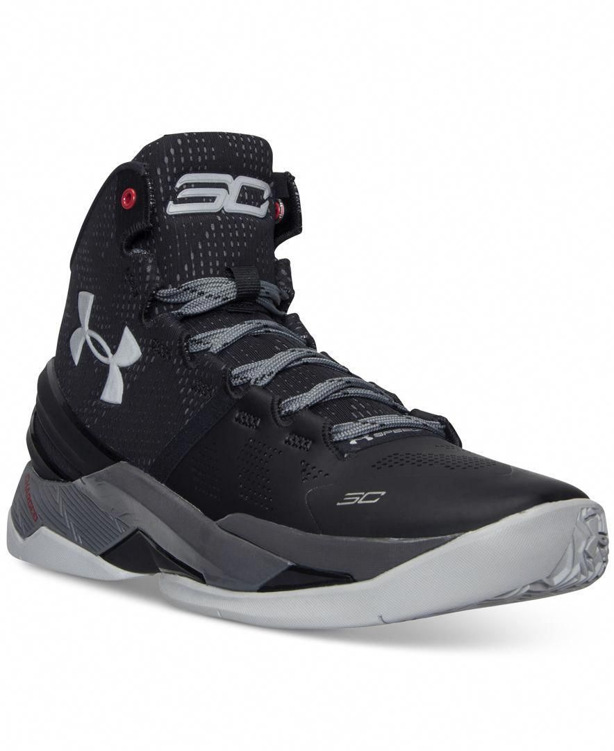 5fe814c34ff4 Under Armour Men s Curry Two Basketball Sneakers from Finish Line ...