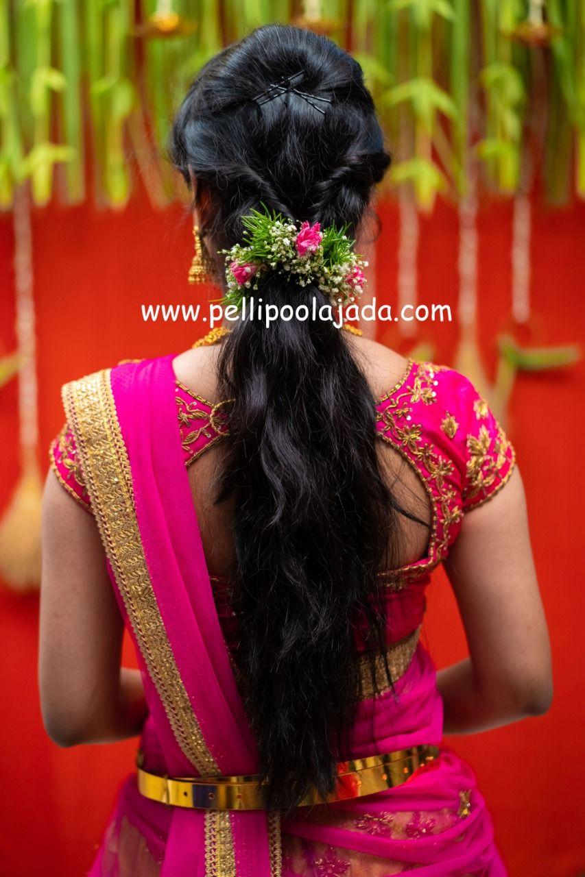 Varalakshmi Vratam Special Photoshoot By Tejureddystudio For Bridesessentials B Traditional Hairstyle Indian Bride Hairstyle Bridal Hairstyle Indian Wedding