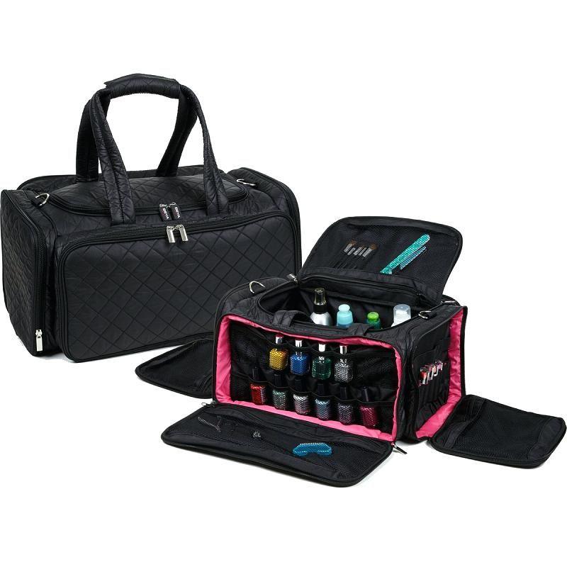 Makeup Bags Travel Ultimate Artist Nail Polish Bag Black Cases