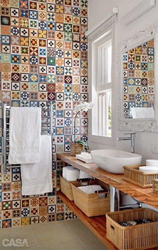 Orientalne Egzotyczne Kafelki W łazience Inspiracje