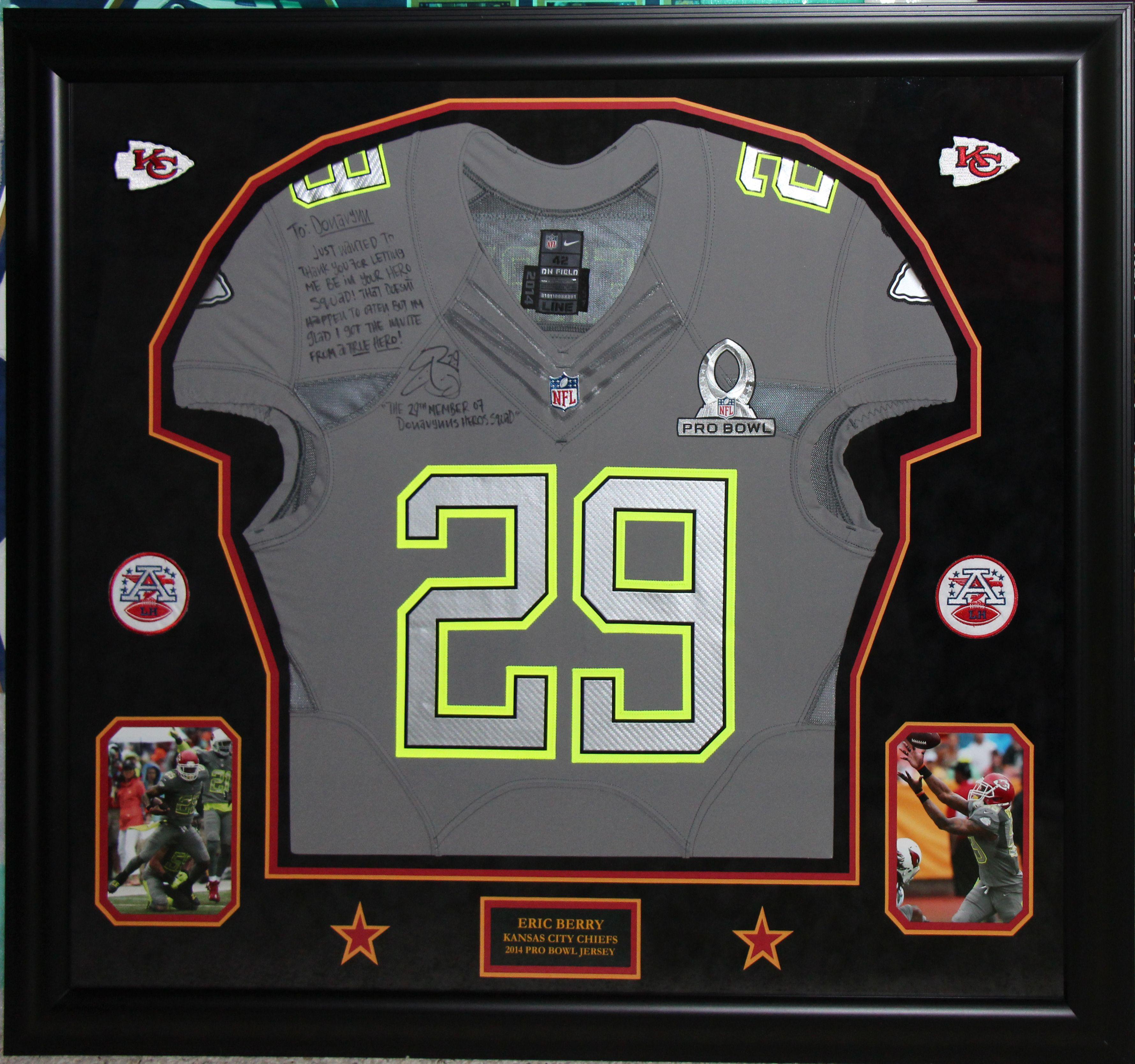 Kansas City Chiefs Eric Berry 2014 Pro Bowl jersey | Mens tops ...