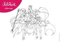 lolirock coloring pages Free LoliRock Printables and Activities | TV Show Printables  lolirock coloring pages