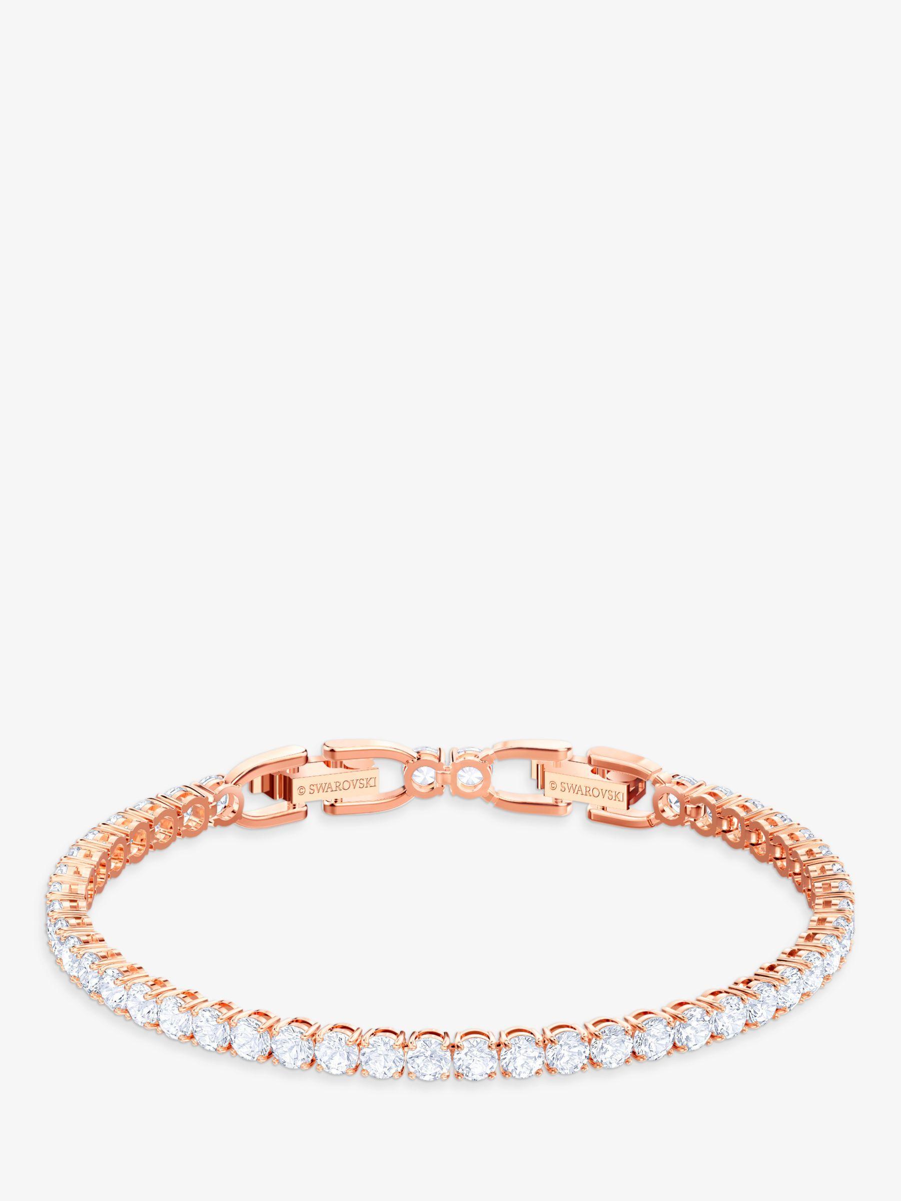 Swarovski Crystal Tennis Bracelet Silver Swarovski Crystals Swarovski Bracelets