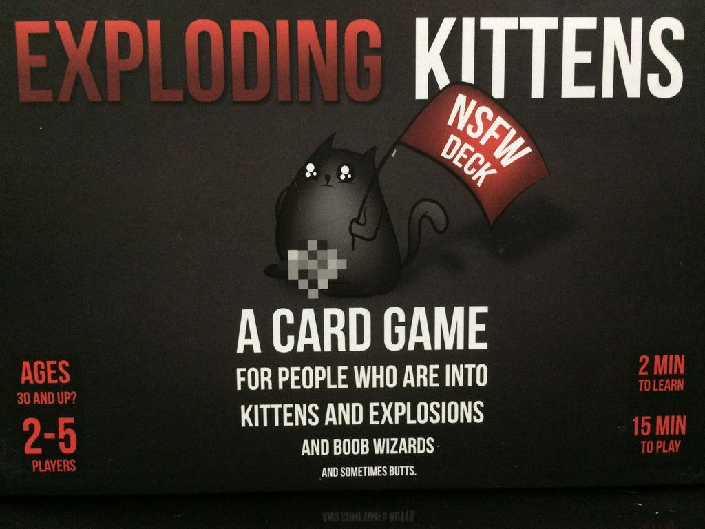 Pin By Sydney Swayzer On Board Games Exploding Kittens Kittens