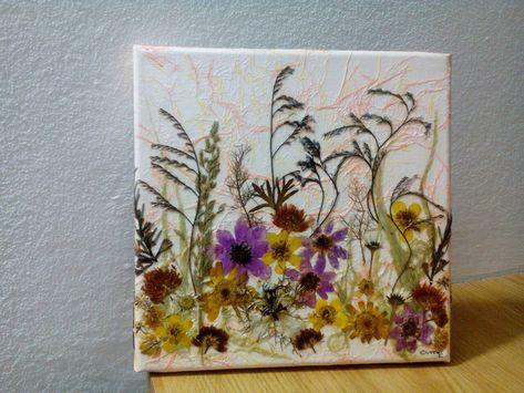 27 Ideen für Blumen Handwerk gepresst