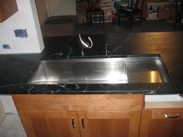 Kohler Stage sink faucet location   Kitchen   Pinterest   Faucet ...
