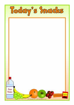 editable snack menu templates sb5492 sparklebox organization