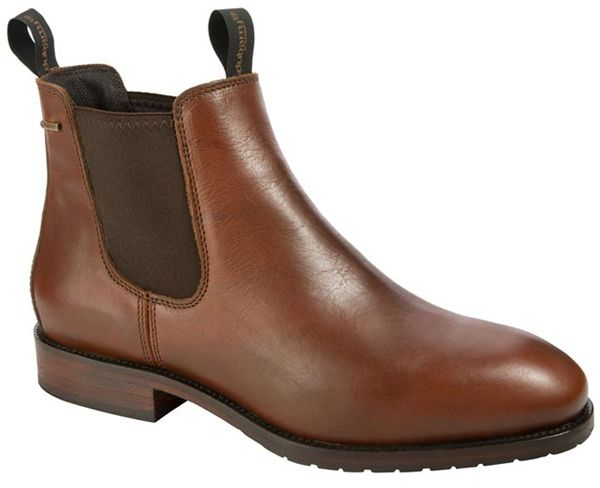 Mens leather ankle boots