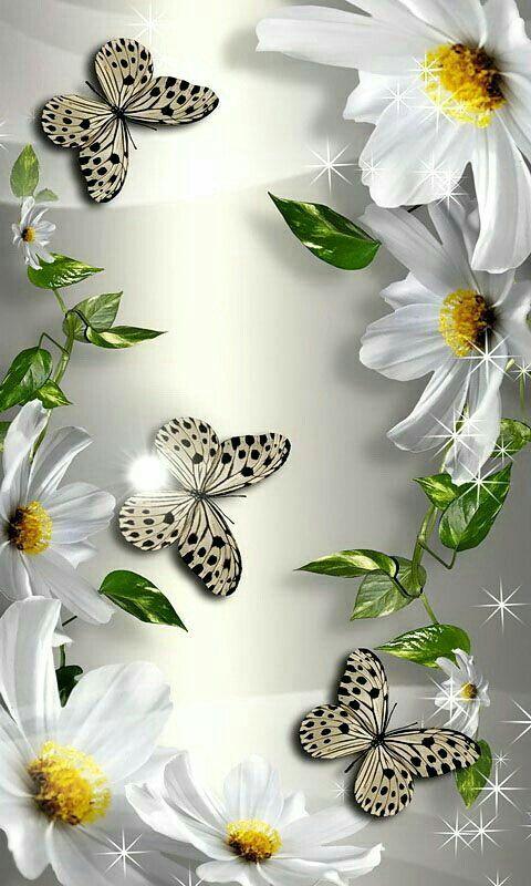 Pin By Jenniffer Miljour On Butterflys Pretty Wallpaper Iphone Butterfly Wallpaper Beautiful Flowers Wallpapers