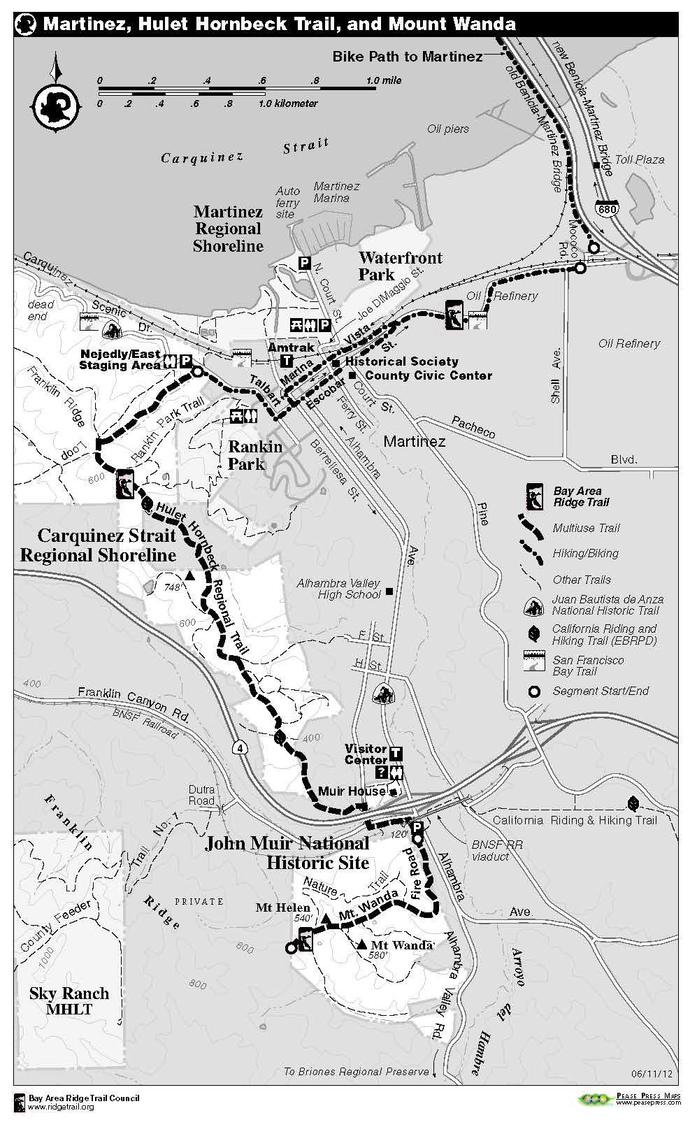 The Best Way To Explore The Ridge Trail Is Using Bay Area Ridge Trail The Official Guide For Hikers Mountain Bikers And Equestrian Trail Trail Maps Bay Area Find trails > california > bay area ridge trail (san francisco presidio). pinterest