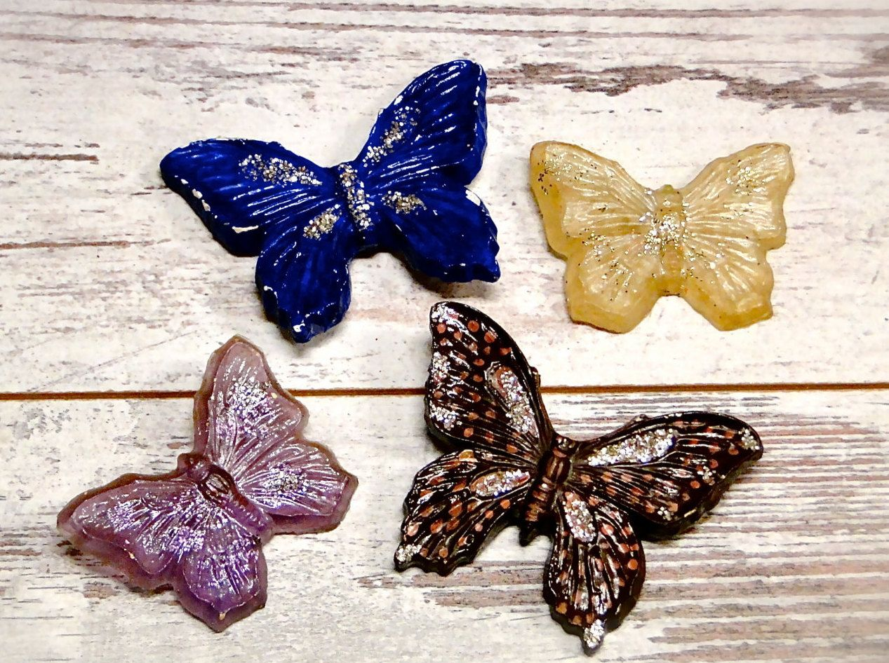 vintage butterflies wall hangings set of four chalkware glitter vintage butterflies wall hangings set of four chalkware glitter plastic mid century kitsch retro home decor by sueellensflair on etsy