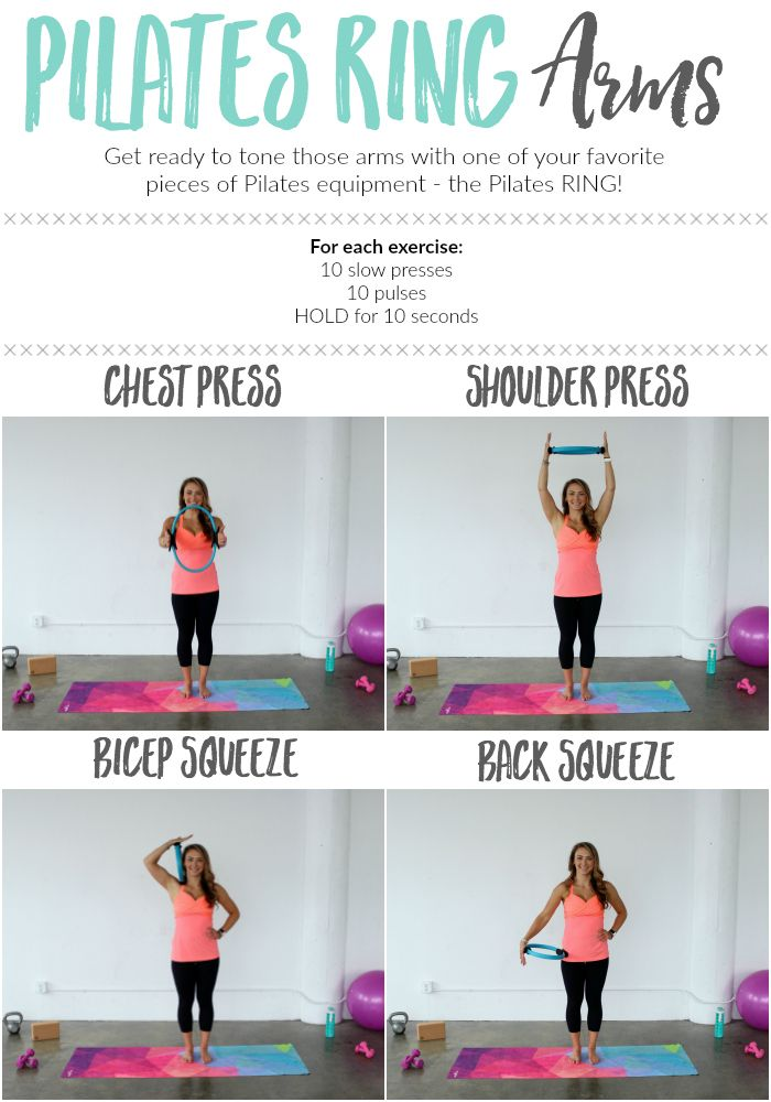 Pilates Ring Arm Workout Magic Circle Arm Exercises