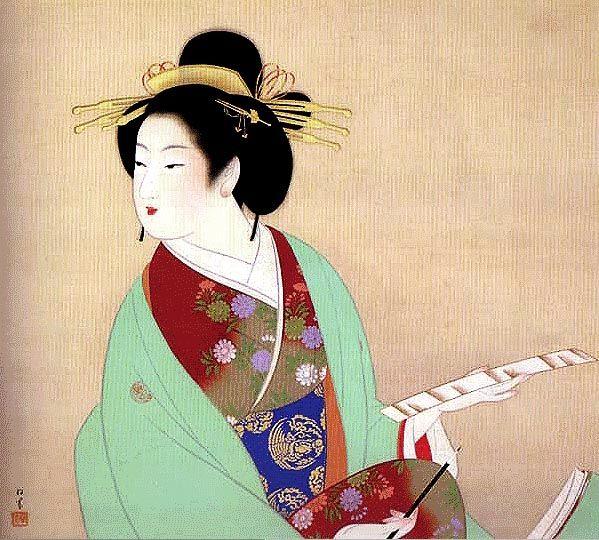 Young Leaves - Uemura Shoen - WikiArt.org