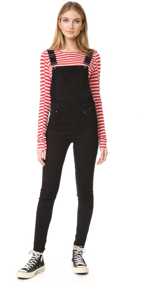 7631e0b29898f Cheap Monday Dungaree Spray Black Overalls | {OUTFITS} | Black ...