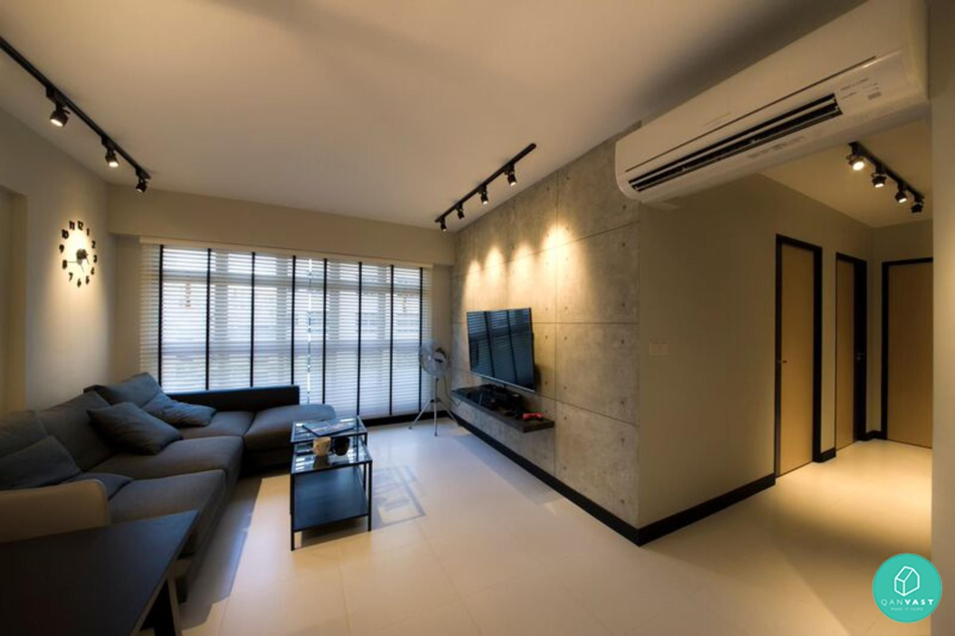 7 Home Designs That Are Simple Clean And Uncluttered Contemporary Apartment Interior Design Singapore House Interior