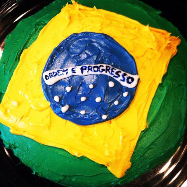 Fine Brazilian Flag Cake Novelty Cakes Flag Cake Elmo Birthday Funny Birthday Cards Online Inifodamsfinfo