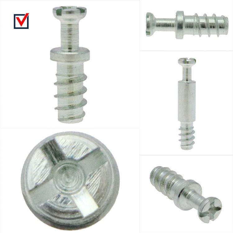Cam Bolt Fixings Threaded Bolts For Furniture Vital Parts Flat Pack Furniture Bolt Thread Types