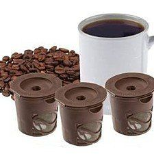 Set of 3 Smart Reusable Coffee Filters + 1 bonus scoop AngelSale