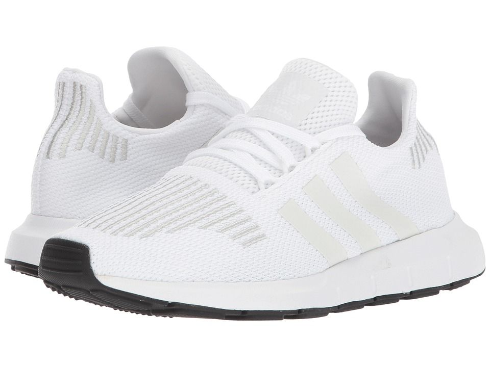 9b2d8f9d23980 adidas Originals Kids Swift Run (Big Kid) Kids Shoes White White Black