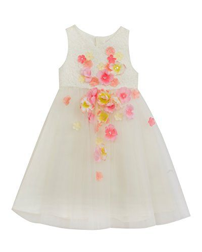 abd00506e291 Rare Editions Little Girls Floral Special Occasion Dress Ivory 3T *** Learn  more by visiting the image link.(It is Amazon affiliate link) #lasvega