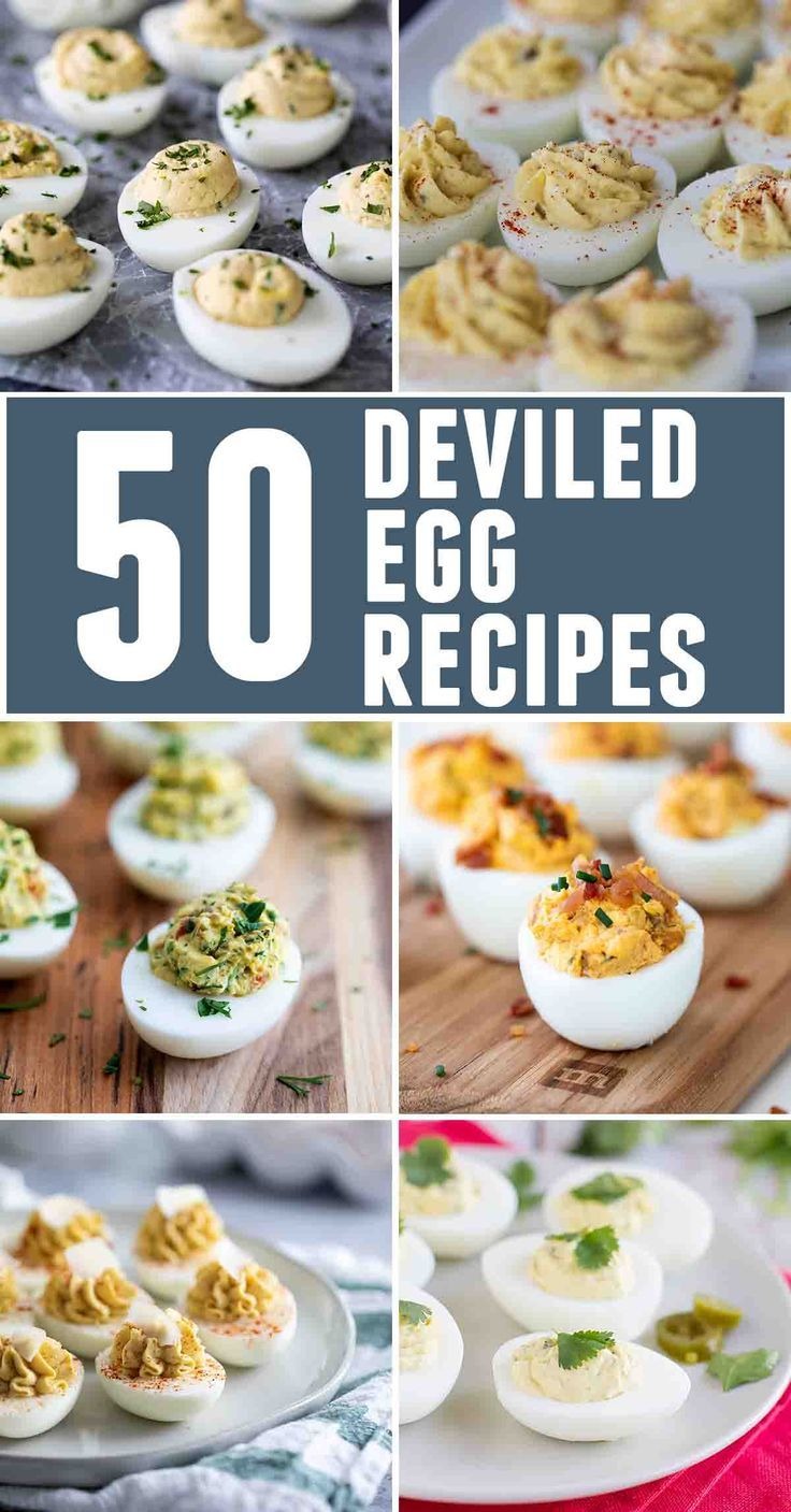 50 Deviled Egg Recipes for Holidays or Pot Lucks - Taste and Tell