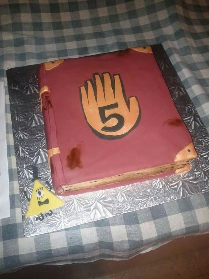 Gravity Falls birthday cake Cakes Pinterest Fall birthday and