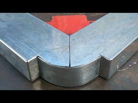 How To Bend Profile A Box Bar To 90 Teknik Bending Profile 90 Hollow 4x8 Youtube Di 2020 Fabrikasi Logam Kayu Perabot Buatan Sendiri