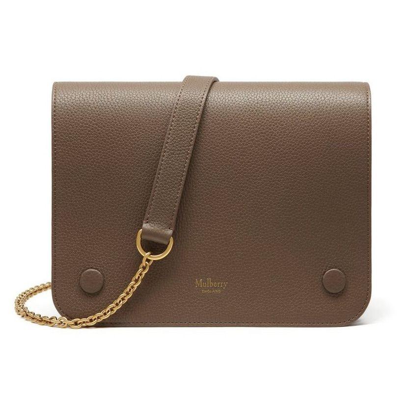 Mulberry Clay  Clifton  Shoulder Bag  ecc62761db00f
