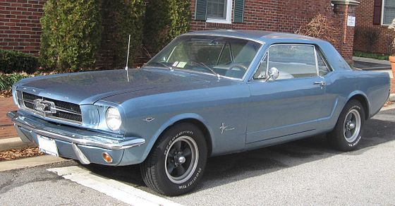 1st Ford Mustang Coupe History Baby History Ford Mustang