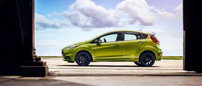 2019 Ford Fiesta S T In White Platinum Metallic Tri Coat Is Cruising The Road Auto