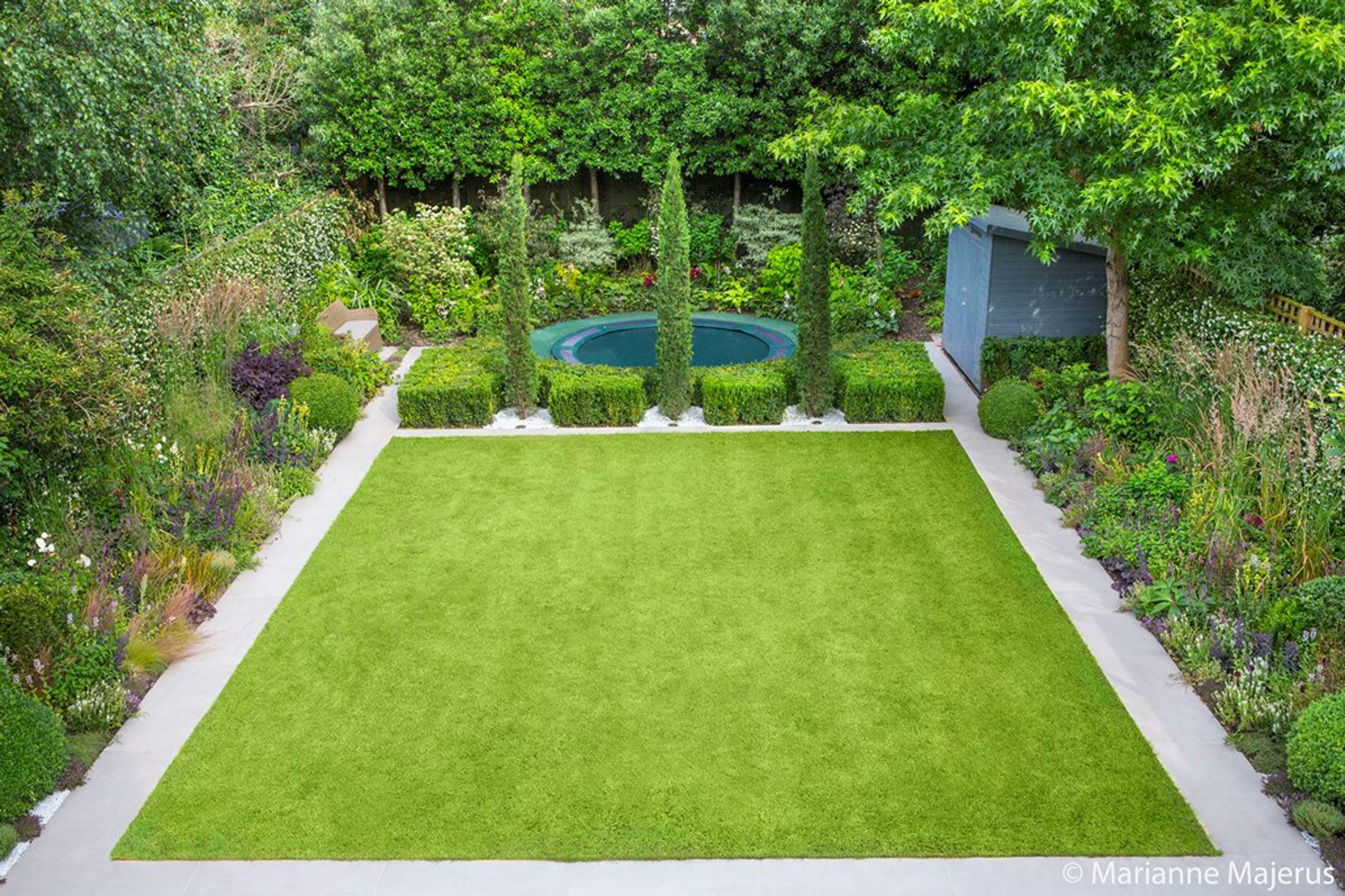 Contemporary Garden design alteration and refurbishment ...