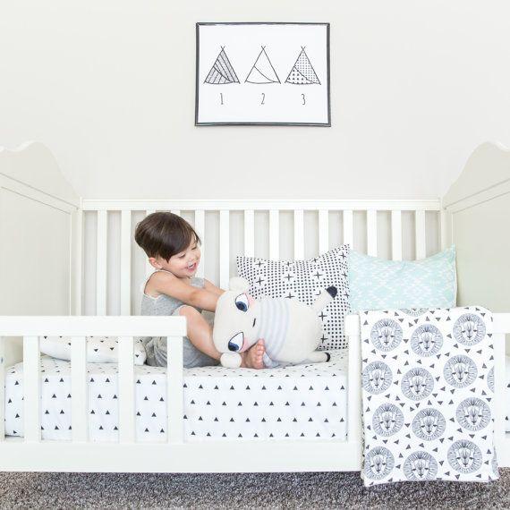 Horse Dragon Crib Set Organic Lion Cub By Horseanddragonshoppe