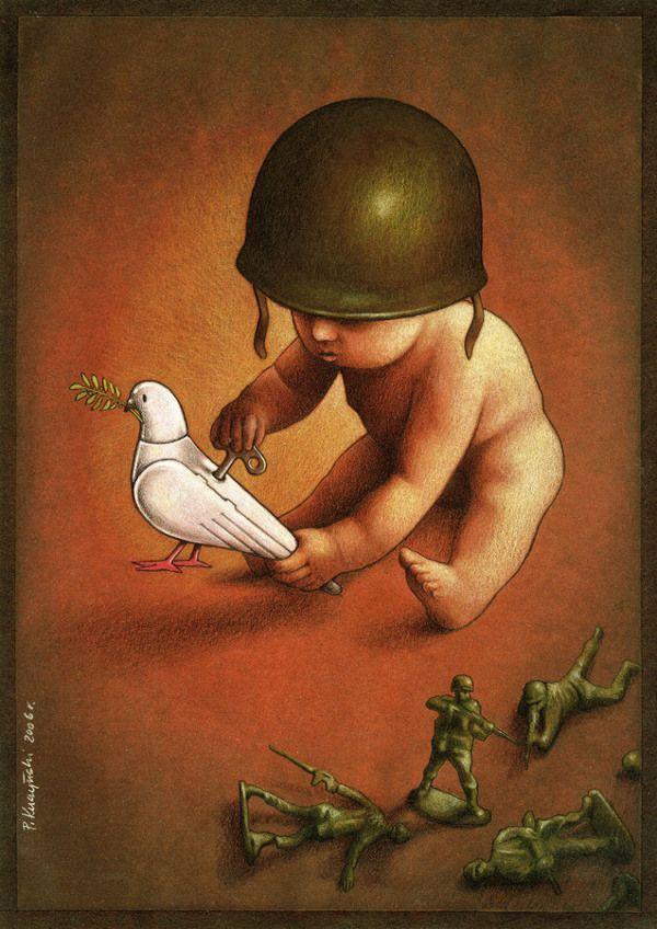 Pawel Kuczynski 28 Pawel Kuczynski Canvas Artwork Satirical