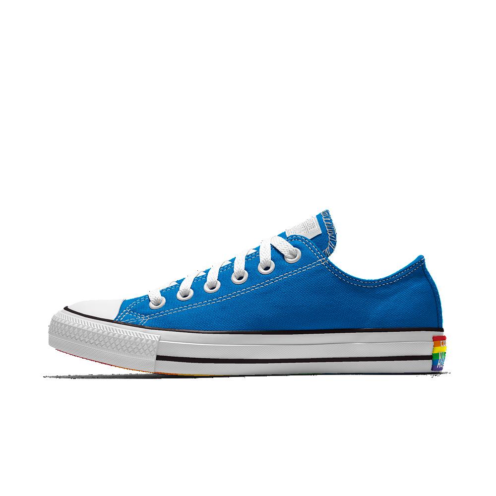 41e72bd0cd4bf3 Converse Custom Pride Low Top Shoe Size 10.5 (Blue)